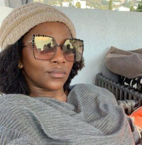 Genevieve Nnaji reacts after '