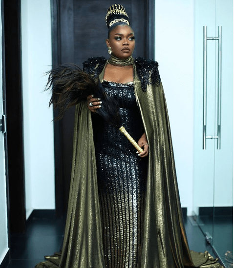 Bisola stepped out last night
