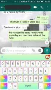 Follow the conversation she had with the Taxify driver below