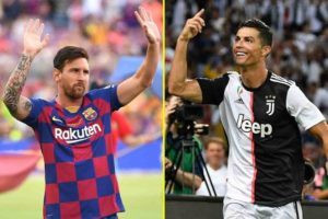 Lionel Messi and Cristiano Ronaldo could face UK travel ban if Britain exits EU without a deal