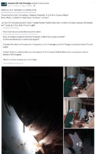 Shocking photos show doctor
