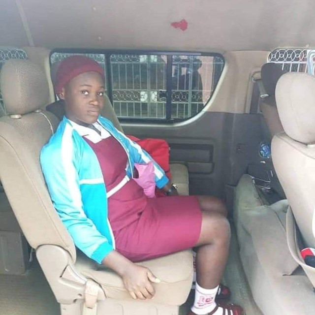 Check out new photo of Chinwe the 15-year-old girl rescued after being married off to 56-year-old 'demented' man in Anambra