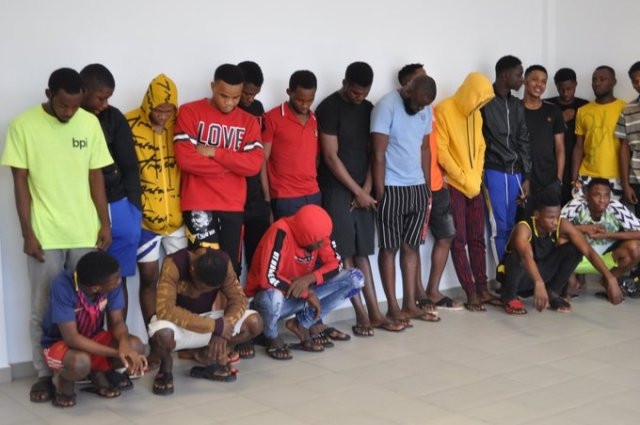 16 year old Boy, 28 Others Has Been Arrested For Internet Fraud In Owerri