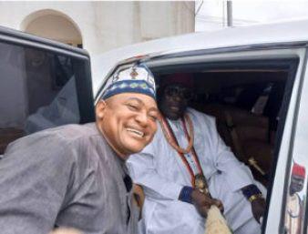 Kogi 2019: Traditional ruler receives white