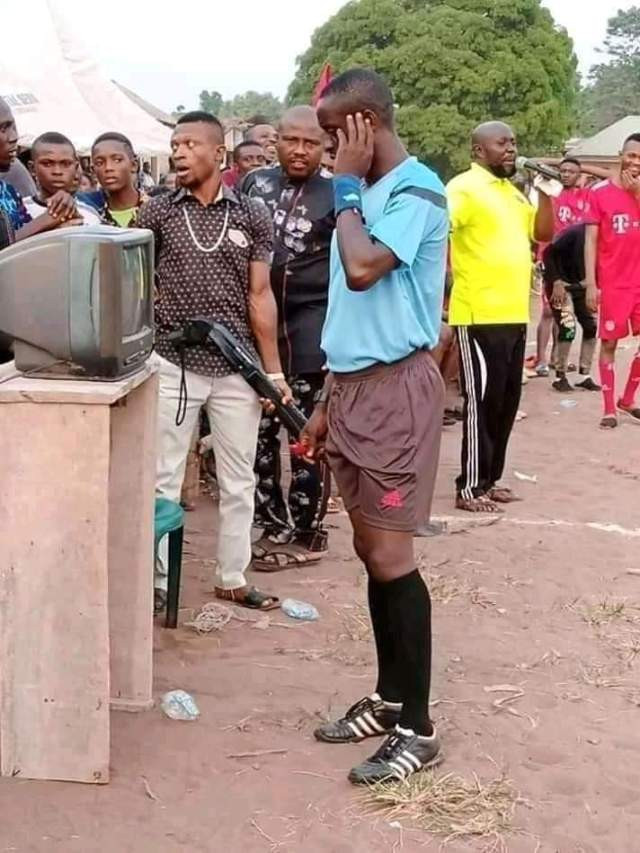 How 'FIFA VAR' Was Introduced In Village Football Competition In Imo State (Photos)