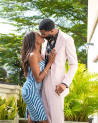 Big Brother Naija star Mike and his wife Perri Shakes