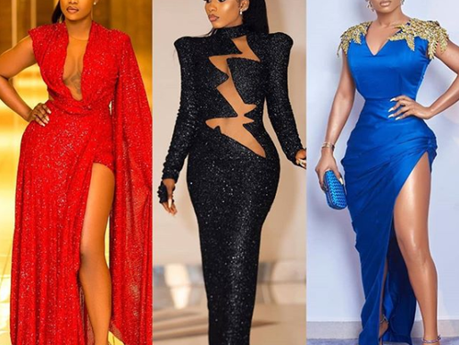 (QUICKLY READ) #Headies: Who is your best dressed: Tacha, Mercy or Toke Makinwa? (photos)