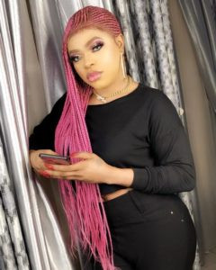 Bobrisky-Lack of underpants