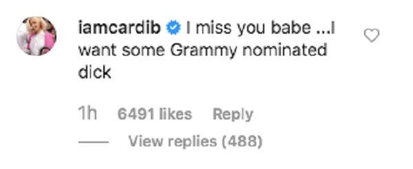 Cardi B dominated at the Grammy