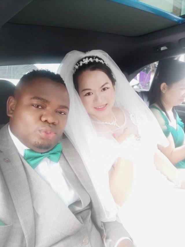 Nigerian man weds his Chinese