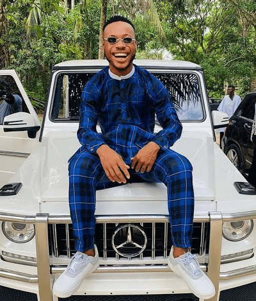 Dancer Poco Lee Blesses His Mum As He Upgrade Her Business (Photo)