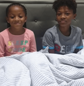 Peter Okoye 's kids, wishes their father and their uncle Paul Okoye,