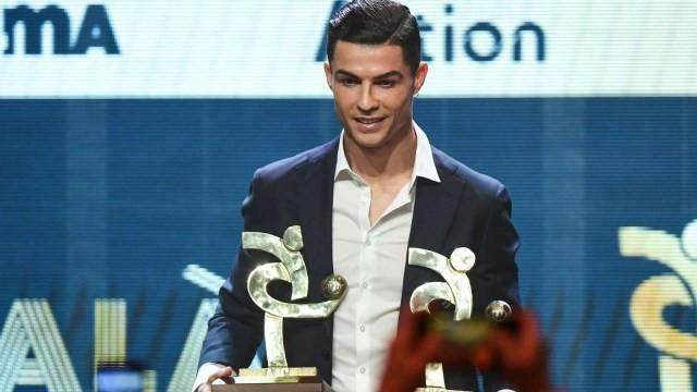 Cristiano Ronaldo has been named the