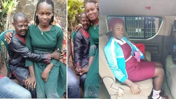 Check out new photo of Chinwe, the 15-year-old girl rescued after being married off to 56-year-old 'demented' man in Anambra