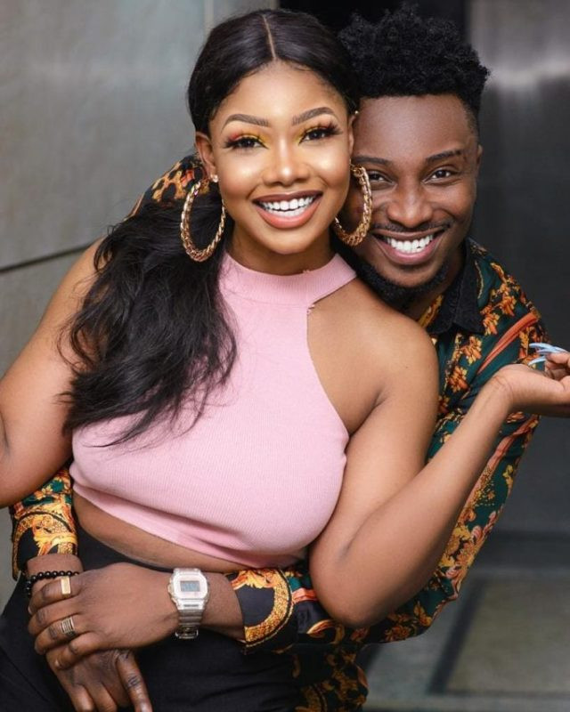 Disqualified BBNaija star, Tacha and Sir Dee