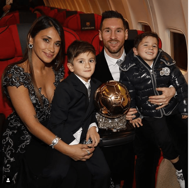 Yesterday night, Lionel Messi