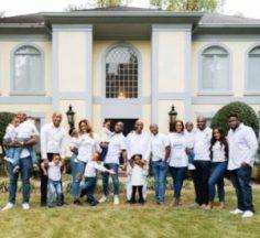 Adeleke's Family