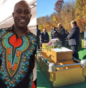 Photos from the funeral of Nigerian scholar
