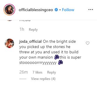 Blogger, Blessing Okoro