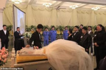 Heart-broken fiance marries his partner's corpse