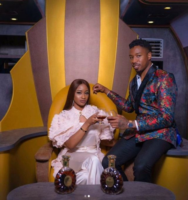 The two Reality stars, Ike Onyema and Kimoprah