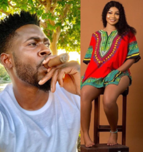 Tacha reveals she's now being managed by Teebillz after