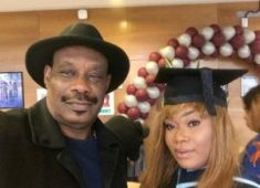 Don Jazzy's father and daughter