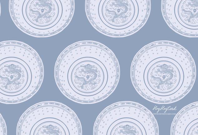 Hong Kong blue-and-white porcelain
