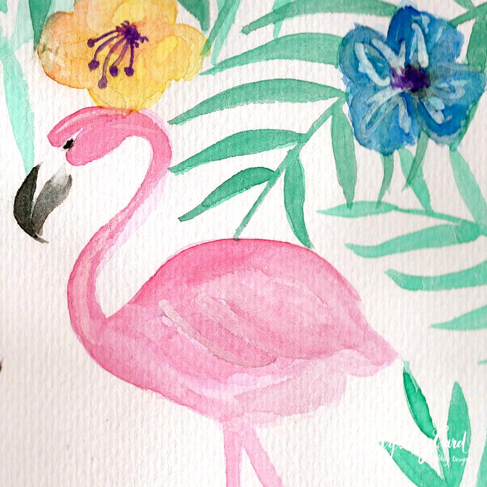 Custom watercolor painting