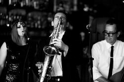 Robbie Ivy Steve Catfish Melbourne blues jazz BW.jpg