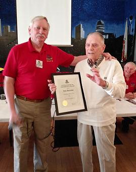 Senior Award -  Dennison, John  (95)  TM