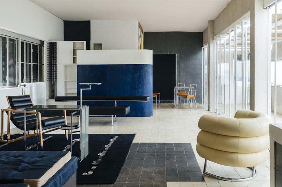 La villa E-1027 et le mobilier d'Eileen Gray pour Jean Badovici, Roquebrune-Cap-Martin (06)