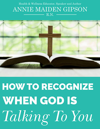 How To Recognize When God Is Talking To You