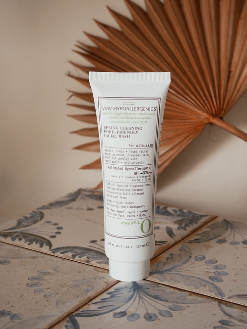 SPRING CLEANING PORE-FRIENDLY FACIAL WASH