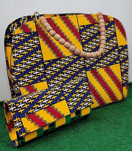 Ankara  Handbag/Purse with Wallet
