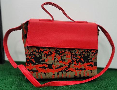 Cotton Batik Handbag with Wallet