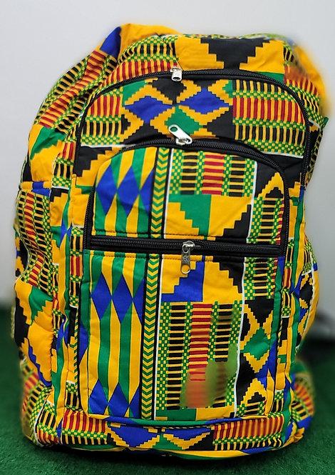 Kente/African Print Backpacks