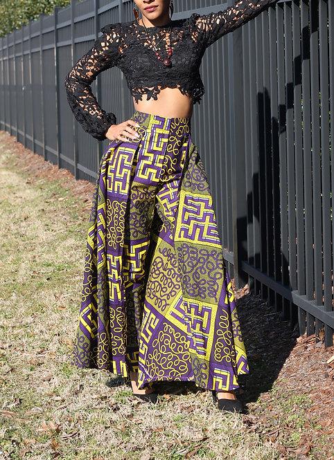 African Wax Print Pants