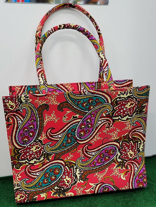 Ankara clutch and Dashiki Tote with wallet