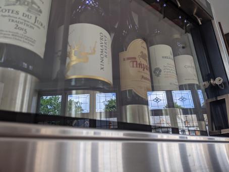Wine Machine Up & Running