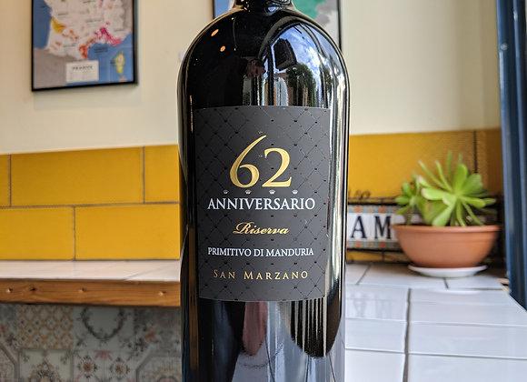 San Marzano 62 Anniversario Primitivo