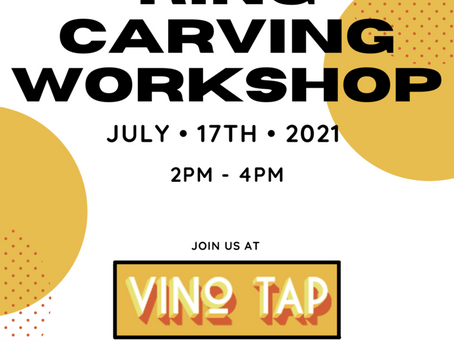 Ring Carving Workshop - July 17th