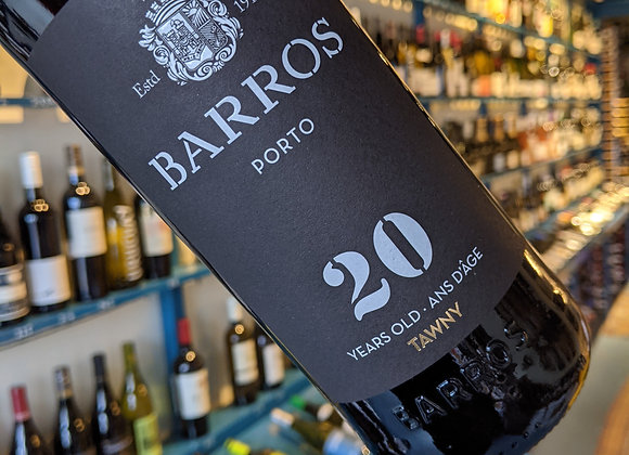 Barros 20 Year Old Tawny Port, Douro, Portugal