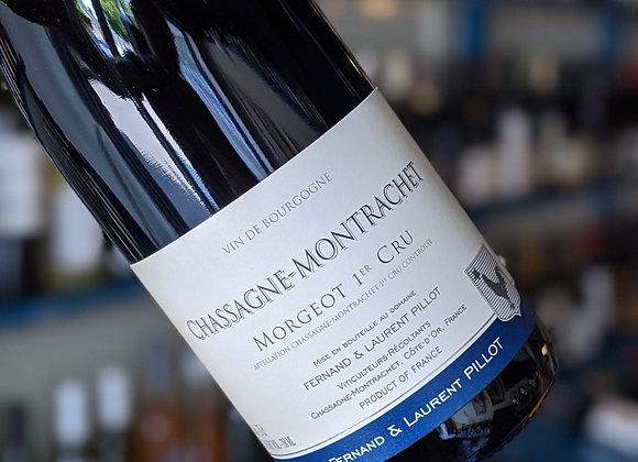 Chassagne-Montrachet Rouge, Morgeot 1er Cru, Pillot Burgundy