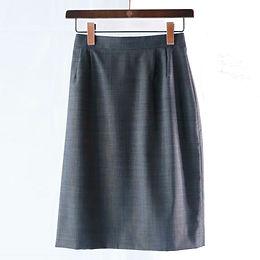 Ladies' タイトスカート グレー ~私を洗練してくれるスカート~