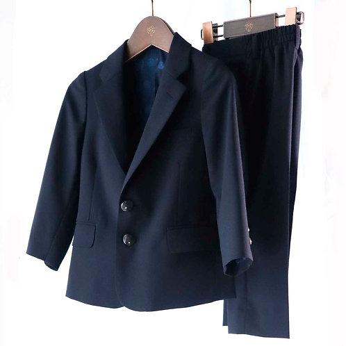 Kid's スーツ ネイビー