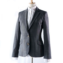 Ladies' スーツジャケット グレーストレッチ ~女を格上げするジャケット~