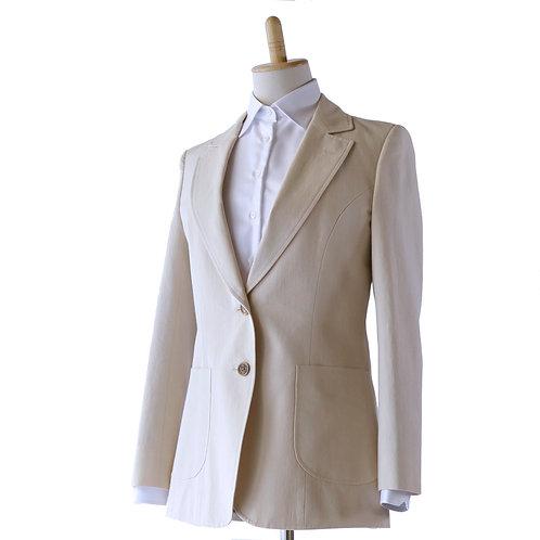 Ladies'和紙ジャケット クラシック ベージュ ~私らしさを紡ぎ出すジャケット~