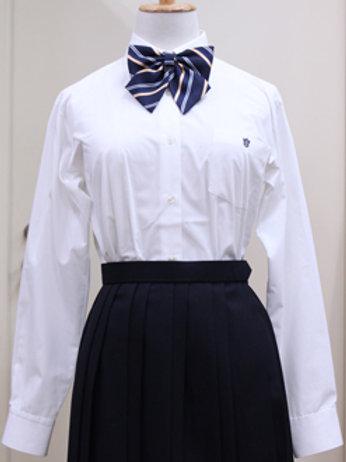 中学・高校共通  女子 長袖ブラウス