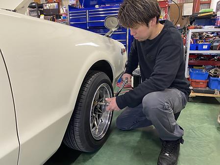 旧車 修理 平塚市